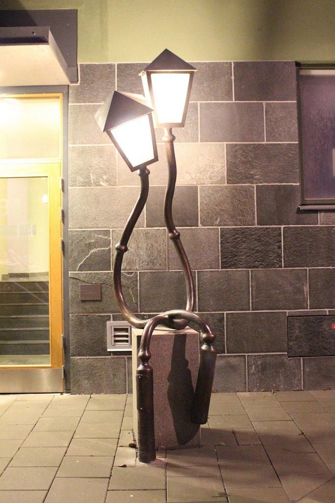 """Gatuliv"" Brons, LED. Familjebostäder, Hässelby Strand"